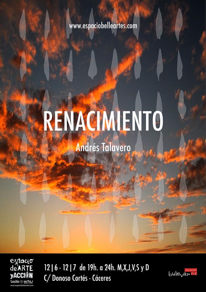cartel Andres Talavero Renacimiento