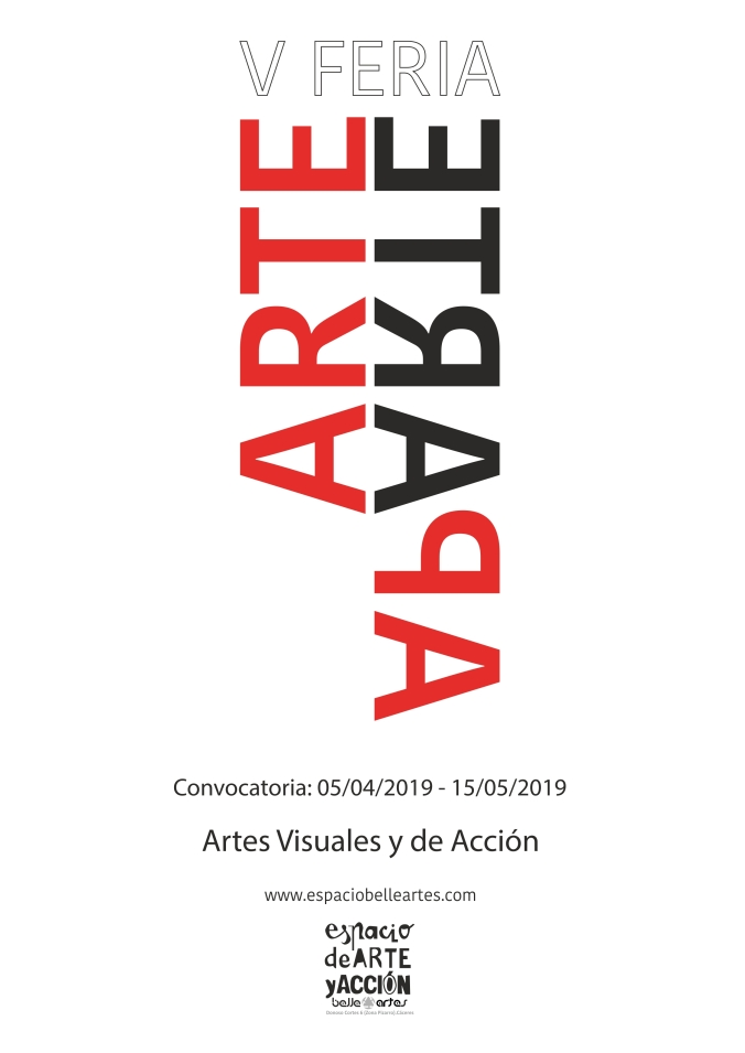 Cartel convocatoria 2019